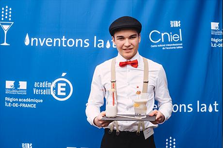 Clément Lejeune en lauréat