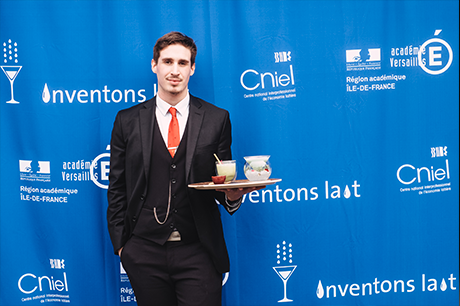 Thibault Gosselin en lauréat